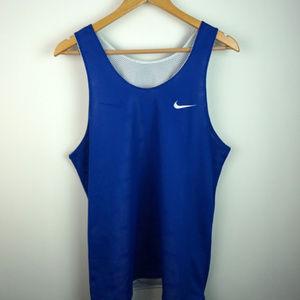 VTG 90s Nike Reversible Jersey Blue / White Medium